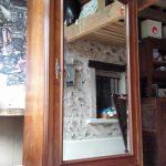 Armoire normande avant relooking pour intérieur contemporain par customdeco